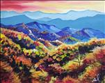 Beautiful Smoky Mountains in Fall,