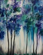$25 MANIC MONDAY! Abstract Forest