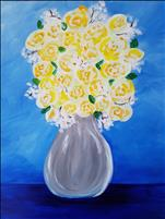 Public Class ~ ***NEW PAINTING* Yellow Tea Rose