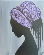 **BLACK HISTORY MONTH** Her Paisley Portrait