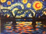 Starry Night at Blue Bridge   $5 off!