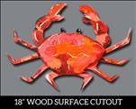 Kid's Class: Beach Crab Wood Cutout