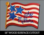New! America the Great Cutout