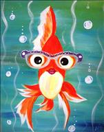 **KIDS AND KANVAS** Silly Gold Fishy
