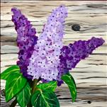 "**12""x12"" Canvas!** Rustic Lilacs"