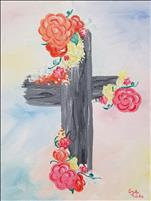 Floral Cross (Ages 10+)