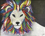 KIDS CAMP/Lions Pride on Large Canvas!