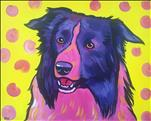Paint Your Pet Pop Art! - Adults Only