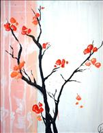 Coffe and Canvas: Cherry Blossoms