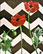 Poppies on Pattern