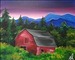Mountain Barn, Customize for Fall!