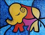 Pop Art Elephant ALL AGES
