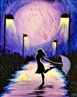 Purple Street - Woman NEW ART