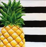 *12X12 SQUARE CANVAS* Pineapple Passion ($30)