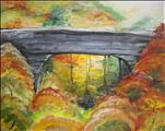 Natural Bridge in Fall