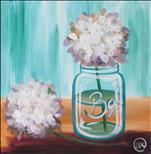 SQUARE CANVAS - Happy Hydrangeas Squared
