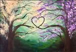 Tranquil Love Trees *PUBLIC* NEW ART LRG CANVAS!