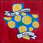 *12x12 Canvas* Lone Star Roses