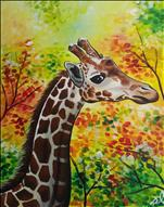 KID'S CAMP-Fall Giraffe