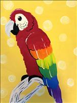 Rainbow Macaw - ALL AGES WELCOME!