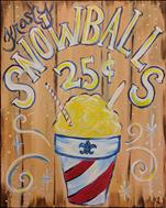 Frosty Snowballs! Customer Fav Ages 14+