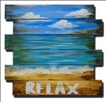 Beach Pallet Painting In Cape Coral!