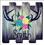 Wild & Free! *Wood Pallet* Personalize It!