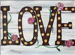 Rustic Love Lights and Flowers ADULTS ONLY
