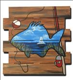 *Father's Day BOGO* Fish Out of Water/Wood Cutout
