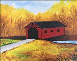 Covered Bridge in Fall  (Adults 18+)