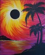Eclipse in Paradise