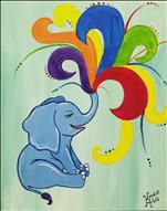 Kids Camp: Rainbow Elephant