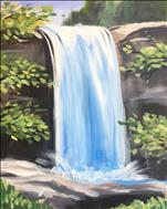 Falls at Lula Lake, click here to paint!