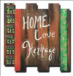 Home Love Heritage *Wood Cutout*