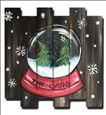 Personalized Snow Globe Pallet