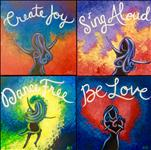 New Art! Sing, Dance, Create, Be