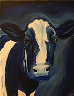 Blue Cow: Will be Presketched