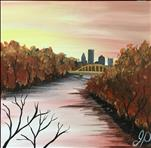 *12x12 Canvas* Falling for Pittsburgh
