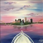 SQUARE CANVAS - Bow to Pittsburgh