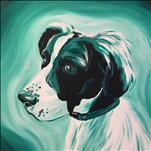 NEW Monochrome Paint Your Pet! 12x12 Canvas