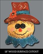 PUBLIC:  Fall Scarecrow Cutout ALL AGES: $25