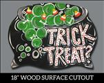 Trick or Treat Cauldron Cutout