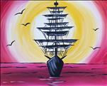 Sunset Pirate Sail OR