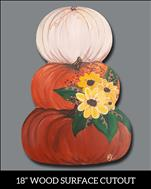 PUMPKIN CUTOUT WORKSHOP!  You choose!