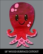 Octo-Love! Paint on Wood! (Open - All Ages)