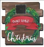 Christmas Countdown! Chalk the days til Christmas!