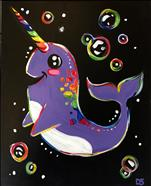 Gnarly the Narwhal-Rainbow FUN! 6+