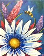 $25 Coffee & Canvas~Daisy Bee
