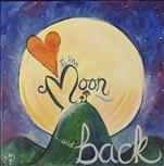 12 x12 ART! To the Moon and Back