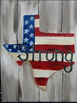 Rustic Texas Strong
